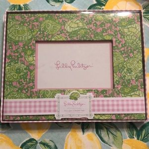 Lilly Pulitzer Turtle Print 4x6 Picture Frame
